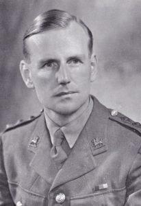 Platoon Commander Lt John Kerr