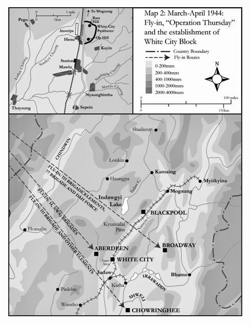 Operation Thursday map.