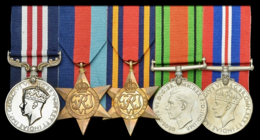 Bottomley's Military Medal group.