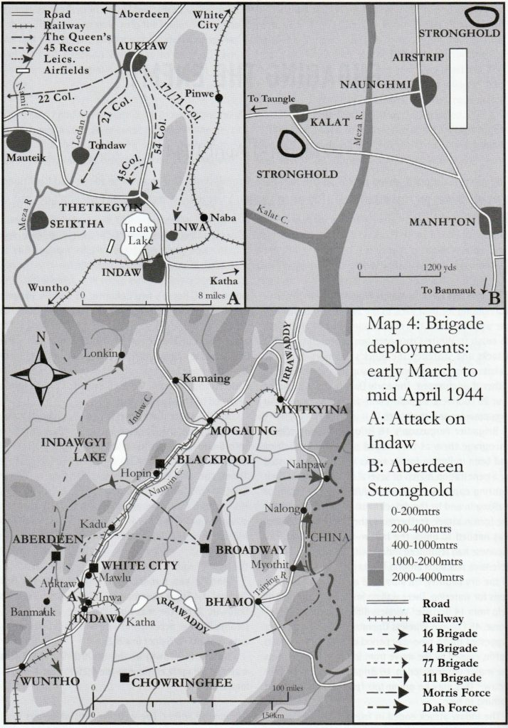 Maps of the locations covered in this section.