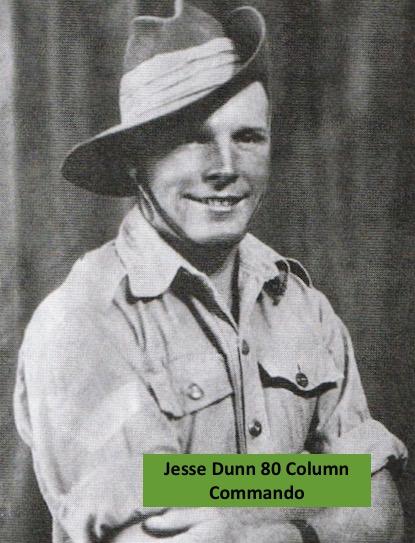 Corporal Jesse Dunn 80 Column Commando.