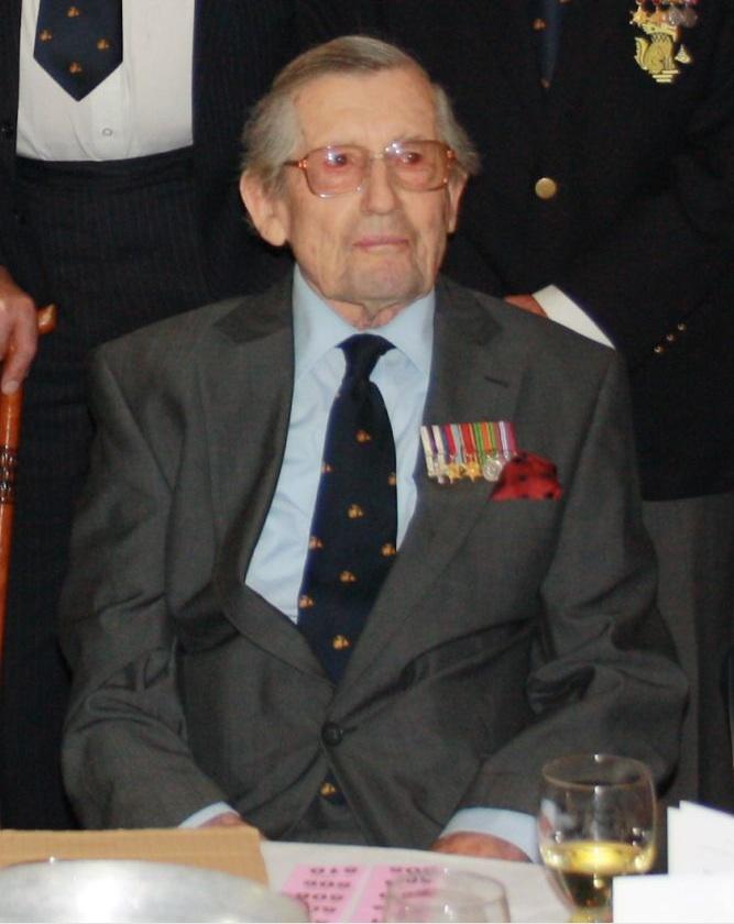 Lieutenant Denis Arnold MC.