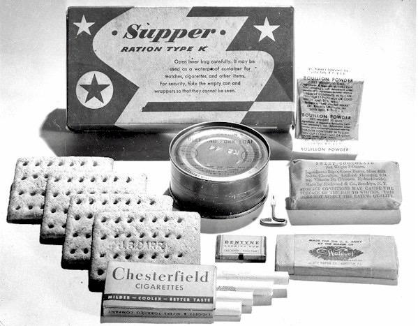 K-ration Supper.