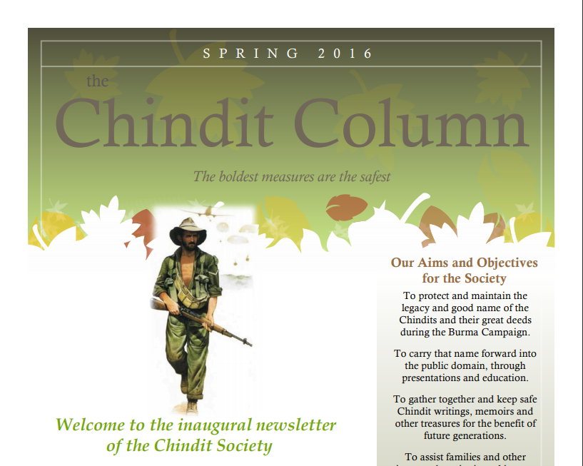 The Chindit Column - Spring 2016