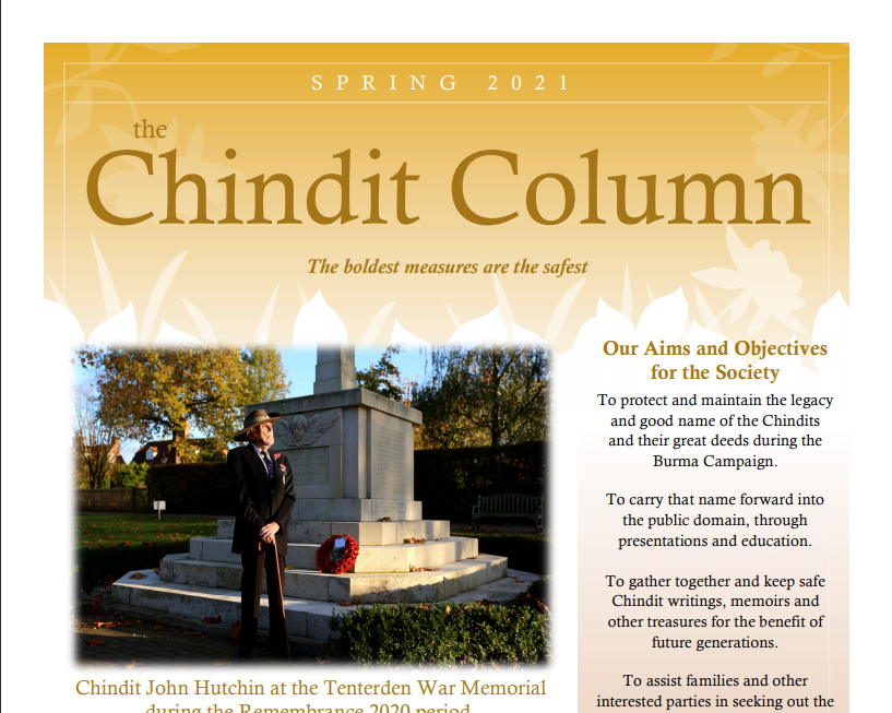 The Chindit Column - Spring 2021